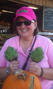 Artichokes of power - we all need to sprout a pair.