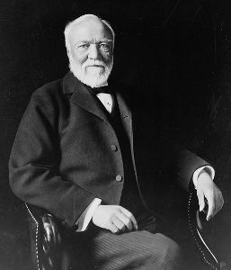 Andrew Carnegie - a Great Capitalist and a Great Philanthropist