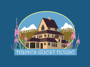 It's Official - here is our logo for our new B and B - the Haines Guest House