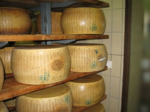 Look for this labeling on the cheese rind when selecting Parmagiano Reggiano Cheese.  The DOP means it's the real thing.