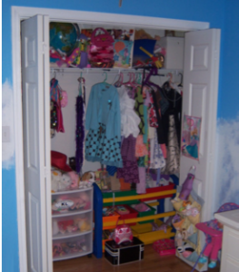 Alex used his Cheetah Action course to complete a project that hit home- organizing his childrens' closets.