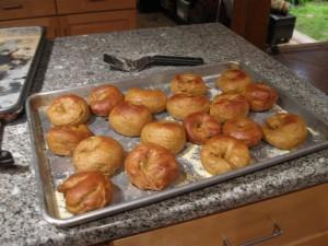 Ta Da - Mini-Pumpkin Bagels