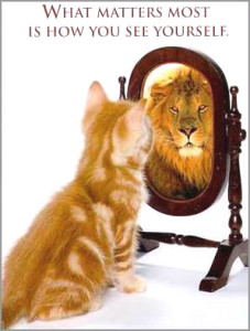 Reflections May Not Be Accurate Indicator of Who You Are